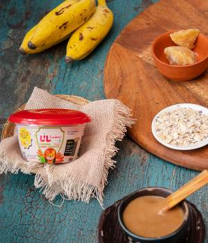 Jaggery Banana Oats Porridge (pack of 3)