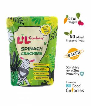 Multigrain Spinach crackers (30g) – Pack of 4